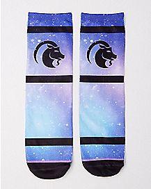 Capricorn Zodiac Crew Socks