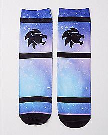 Leo Zodiac Crew Socks