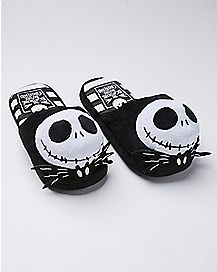 3D Jack Skellington Slippers - The Nightmare Before Christmas