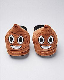 3D Poop Emoji Slippers