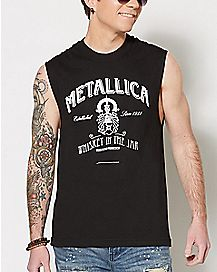 Whiskey In The Jar Metallica Muscle Tank