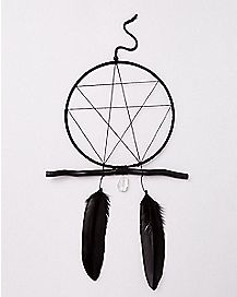 Feather Crystal Dreamcatcher