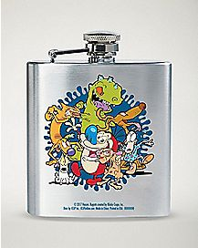 90's Nickelodeon Flask - 8 oz.