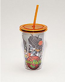 Space Jam Cup with Straw - 16 oz.