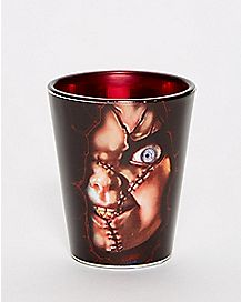 Wanna Play Chucky Shot Glass - 1.5 oz.