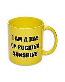 I Am A Ray of Sunshine Coffee Mug - 22 oz.