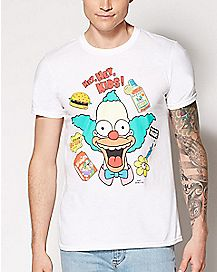 Krusty the Clown T Shirt - The Simpsons