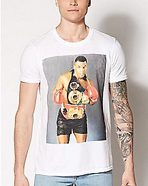 Champ Photo Mike Tyson  T Shirt