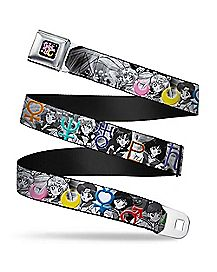 Sailor Scouts Symbol Seatbelt Belt - Sailor Moon