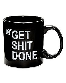 Get Shit Done Coffee Mug - 20 oz.