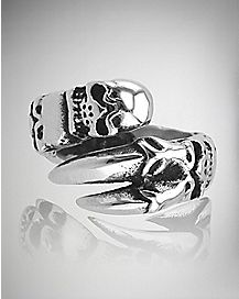 Claw Skull Ring - Size 10
