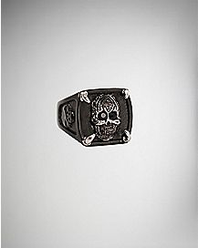 Square Skull Ring