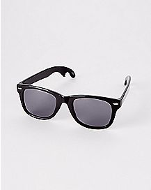 Classic Black Bottle Opener Sunglasses