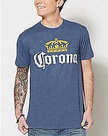 Crown Corona Beer T Shirt