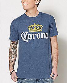 Crown Corona Beer T Shirt