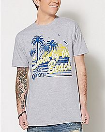 Saved By The Beach Corona T Shirt