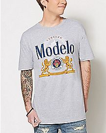 Lion Crest Modelo Beer T Shirt