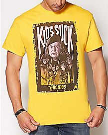 Kids Suck The Goonies T Shirt