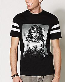 Varsity Wonder Woman T Shirt - DC Comics
