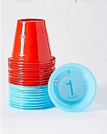 Beer Pong Slip Cup Set