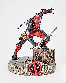 Deadpool Figurine with Keychain - Marvel