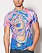 Trippy Scooby Doo T Shirt