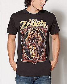 Warlock Rob Zombie T Shirt
