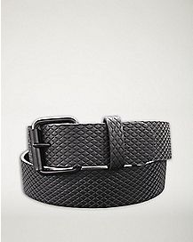 Embossed Gray Belt