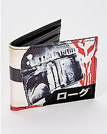 Boba Fett Star Wars Bifold Wallet - Empire Collection