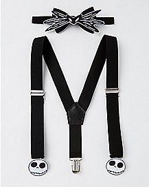 Jack Skellington Bowtie and Suspenders Set - The Nightmare Before Christmas