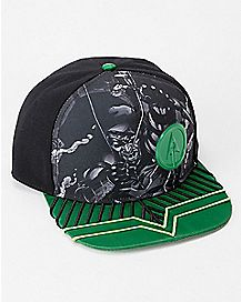 Green Arrow Snapback Hat - DC Comics