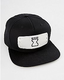 Metal Badge Naruto Snapback Hat