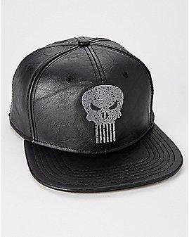 Metal Badge Punisher Snapback Hat - Marvel