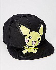 Pikachu Snapback Hat - Pokemon
