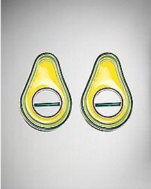 Avocado Nipple Shields - 14 Gauge