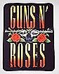 Guns N' Roses Fleece Blanket