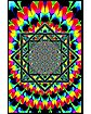 Sacred Geometry Blacklight Poster