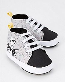 Jack Skellington Baby High Top Sneakers - The Nightmare Before Christmas