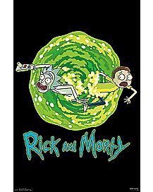 Portal Rick and Morty Poster