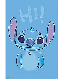 Sitch Poster - Lilo and Stitch