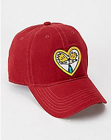 Heart Hey Arnold Dad Hat - Nickelodeon