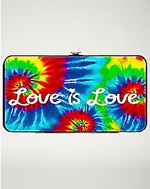 Tie Dye Love Is Love Wallet