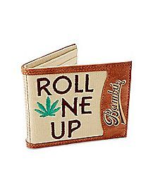 Roll One Up Bambu Bifold Wallet