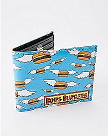 Flying Burgers Bifold Wallet - Bob's Burgers