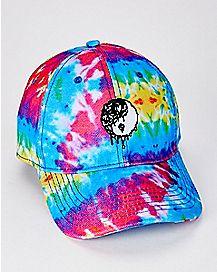 Yin Yang Tie Dye Dad Hat