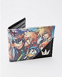 Kingdom Hearts Bifold Wallet