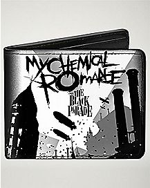 Black Parade My Chemical Romance Bifold Wallet