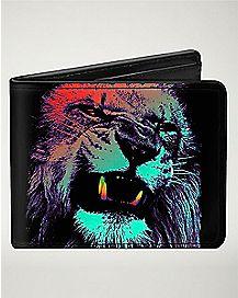 Lion Bob Marley Bifold Wallet