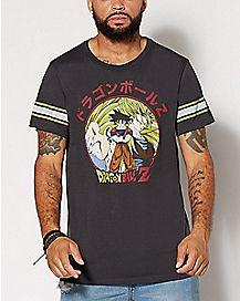 Varsity Dragonball Z T Shirt