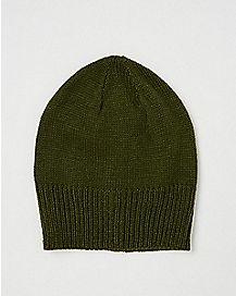 Long Slouchy Beanie Hat